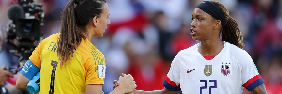 2019 FIFA Women's World Cup Round of 16 Odds, Predictions & Picks