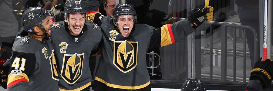 The Golden Knights should be one of your NHL Betting Picks of the Week.