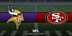 Vikings vs 49ers Result NFL Divisional Playoffs Score