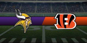 Vikings vs Bengals Result NFL Score