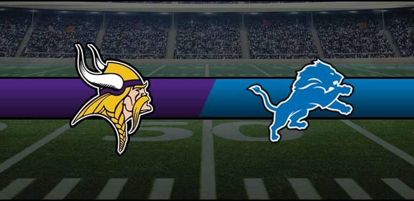 Vikings vs Lions Result NFL Score