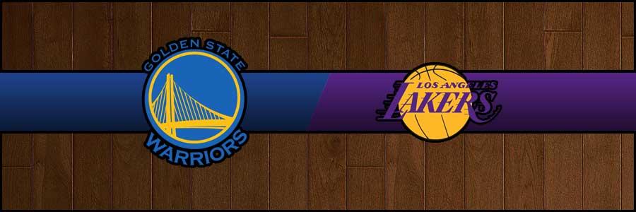 Warriors vs Lakers Result Basketball Score