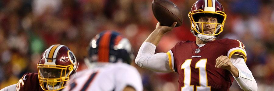 Redskins vs Giants 2018 NFL Week 8 Odds & Prediction