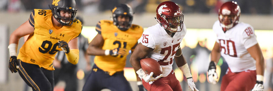 WSU are favorites in the NCAAF odds for Week 8.