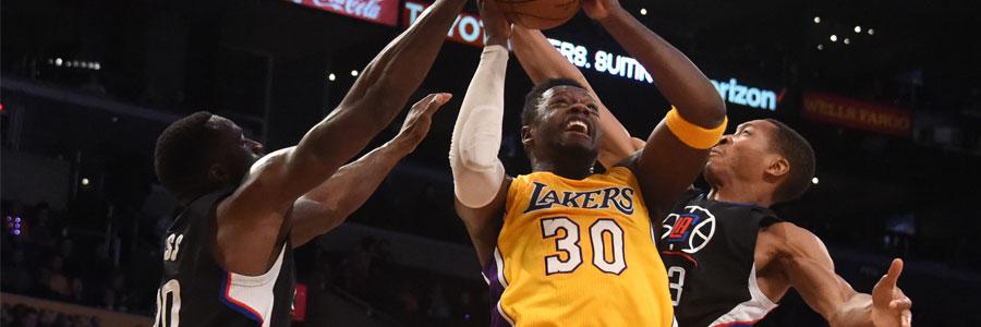 Washington at LA Lakers NBA Spread, Betting Pick & TV Info