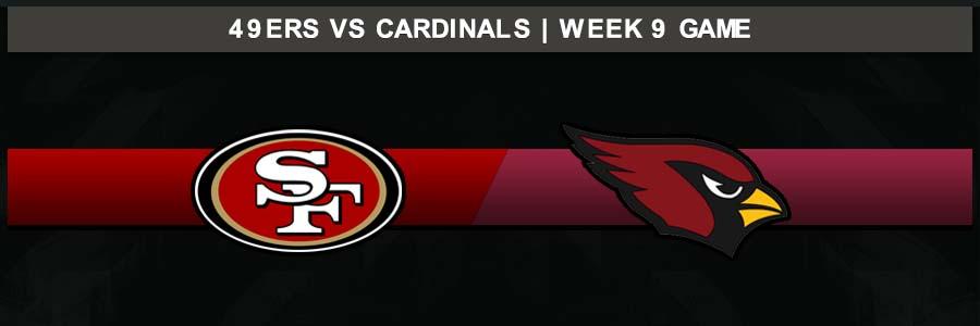 49ers @ Cardinals, Week 9 Result Sunday Football Score