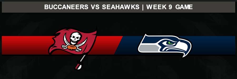 Buccaneers @ Seahawks Week 9 Result Sunday Football Score