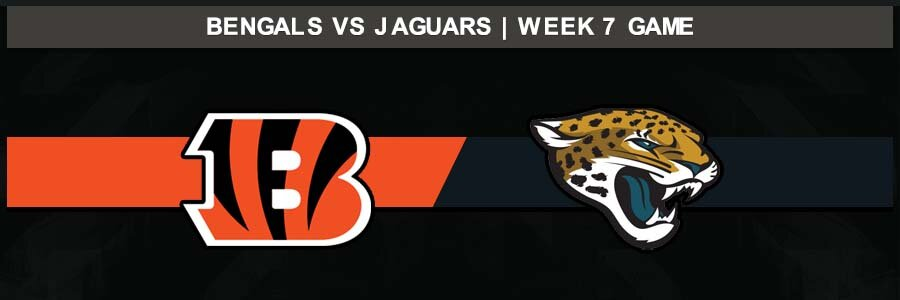 Jaguars 27 @ Bengals 17, Week 7 Result Sunday Football Score