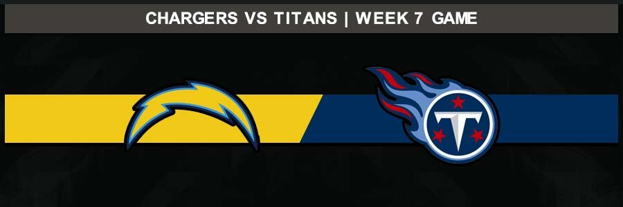 Chargers 20 @ Titans 23, Week 7 Result Sunday Football Score