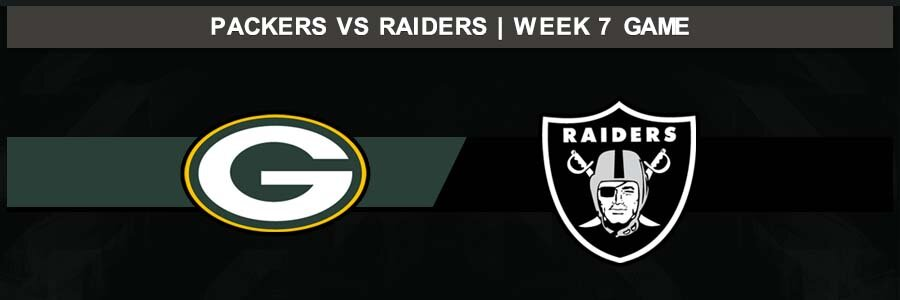 Packers 42 @ Raiders 24, Week 7 Result Sunday Football Score