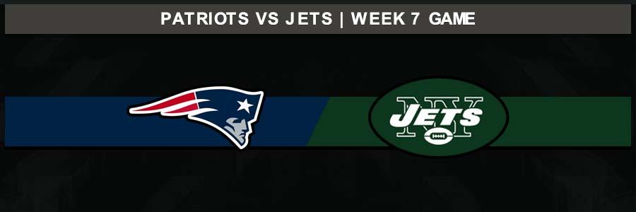 Patriots 33 @ Jets 0, Week 7 Result Sunday Football Score
