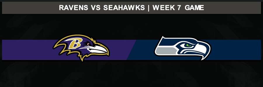 Ravens 30 @ Seahawks 16, Week 7 Result Sunday Football Score