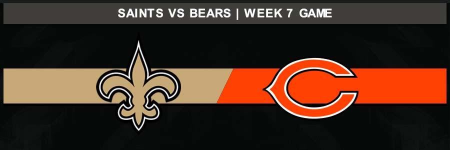 Saints 36 @ Bears 25, Week 7 Result Sunday Football Score
