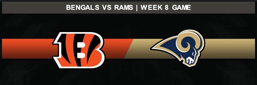 Bengals @ Rams, Week 8 Result Sunday Football Score