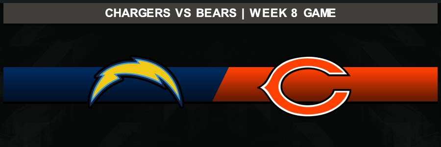 Chargers @ Bears, Week 8 Result Sunday Football Score