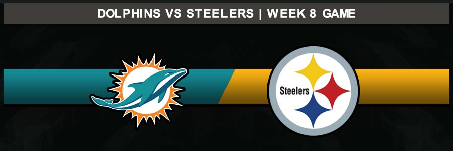 Dolphins @ Steelers, Week 8 Result Sunday Football Score