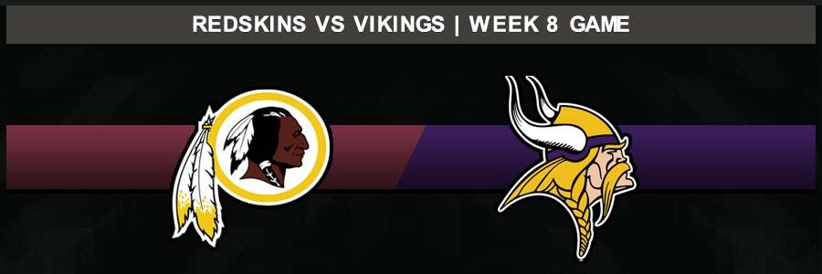 Redskins @ Vikings, Week 8 Result Thursday Football Score