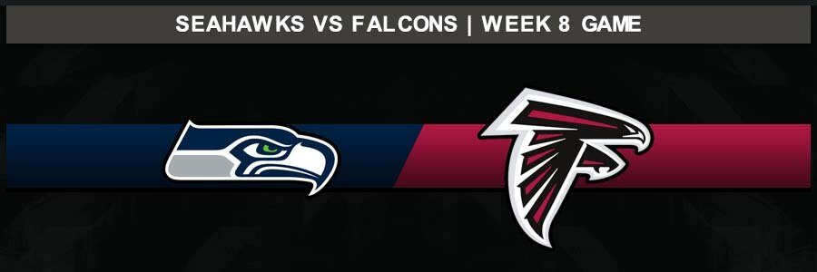 Seahawks @ Falcons, Week 8 Result Sunday Football Score