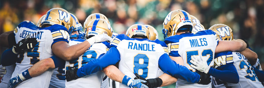 Winnipeg vs Saskatchewan 2018 CFL Western Division Semifinals Odds