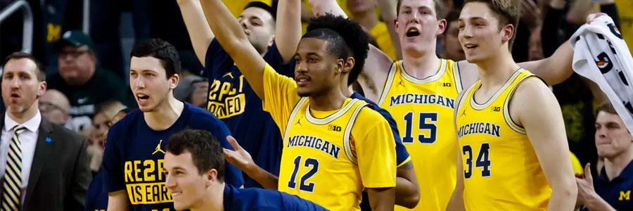 Wisconsin at Michigan Odds, Free Pick & TV Info