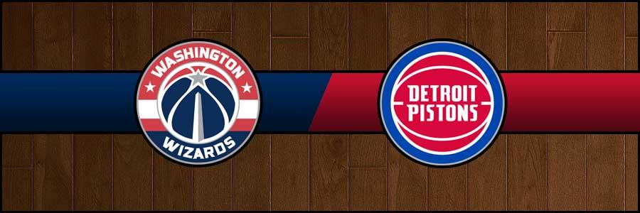 Wizards vs Pistons Result Basketball Score
